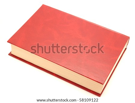The book on a white background