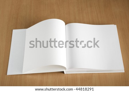 The book with a pure cover - stock photo
