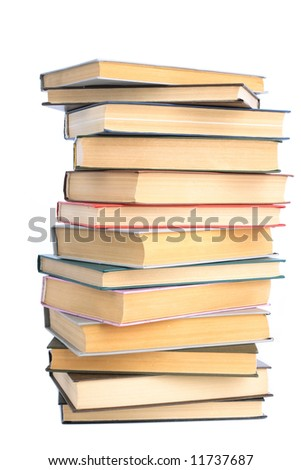 The Books built in high pile.