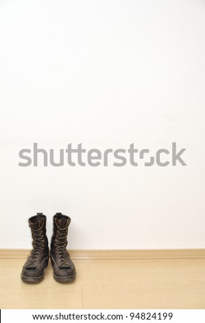 The boots - stock photo
