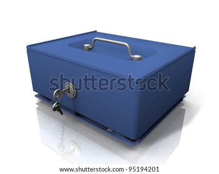 the box for the currency