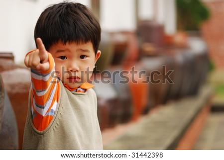 The boy - stock photo