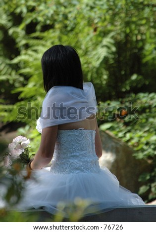 The Bride - stock photo