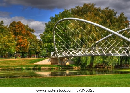 The Bridge - stock photo