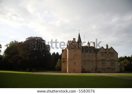 The Brodie Castle, in the Scottish Highlands.