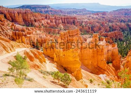 The Bryce Canyon National Park, Utah, USA - stock photo