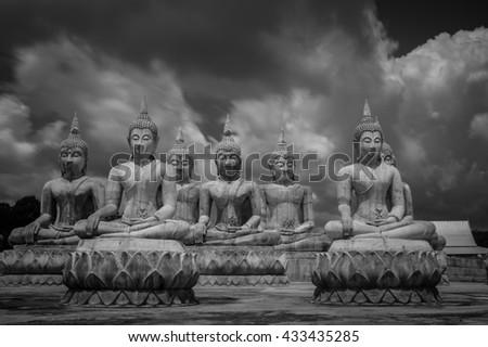 The Buddha - stock photo