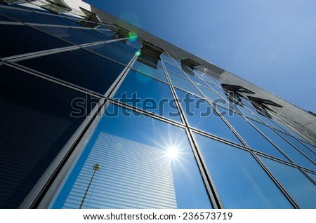 the building - stock photo