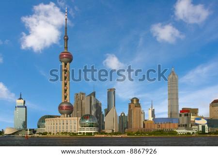 The Bund (Wai Tan), Shanghai, China - stock photo