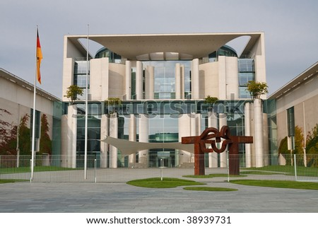 The Bundeskanzleramt / Kanzleramt / Chancellery is the seat of the German federal government and the residence of the German Bundeskanzler (Chancellor). It is located in Berlin, Germany.