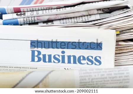 The business newspaper