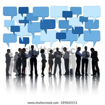 The Business Social Issue - stock photo