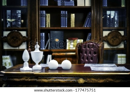 The Cabinet, the place of work. - stock photo