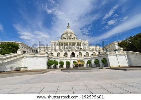 The Capitol - Washington D.C., United States of America - stock photo
