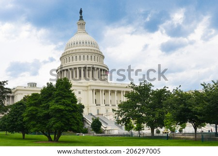 The Capitol - Washington DC, United States of America  - stock photo