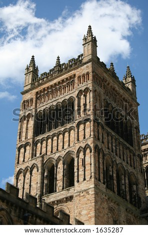 The cathedral in Durham, England. - stock photo