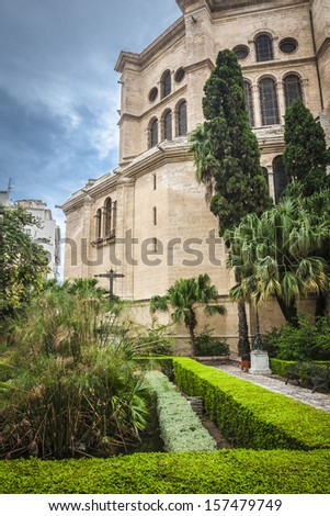 The Cathedral - Malaga's main historical building