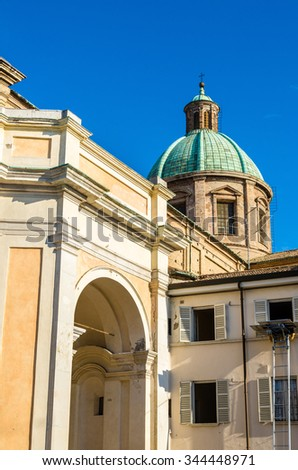 The Cathedral of Ravenna - Italy, Emilia-Romagna - stock photo