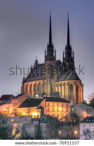 The Cathedral of St. Peter and St. Paul Brno (Petrov)