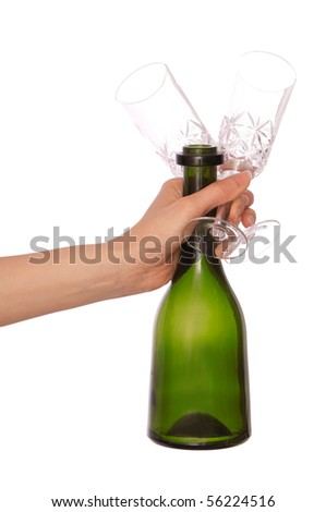 the champagne glasses for cocktails for party
