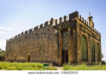 The Chapel of the Tablet, Axum, Ethiopia - stock photo