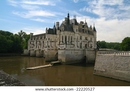 The Chateau de Chenonceau. Loire Valley. France
