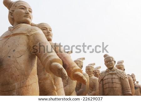 Chinese Warr... Terracotta Army Qin Dynasty 210 Bc Art