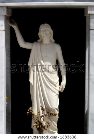 The Christ - stock photo