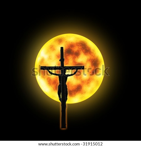 The Christian Cross, Symbol of Christianity - stock photo