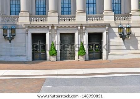 The Christian Science Publishing Society, Boston, MA, USA - stock photo