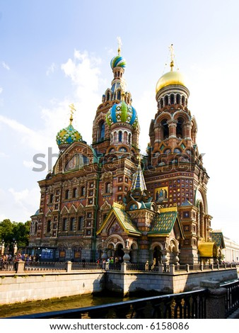 The Church of Our Savior on Spilled Blood, St Petersburg, Russia