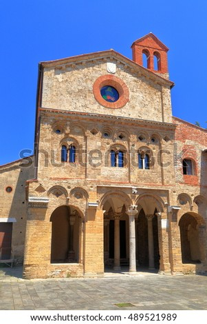 The Church of San Zeno in Pisa, Tuscany, Italy