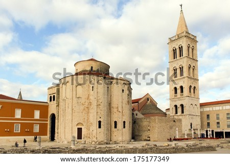 The Church of St. Donatus is a church located in Zadar, Croatia.