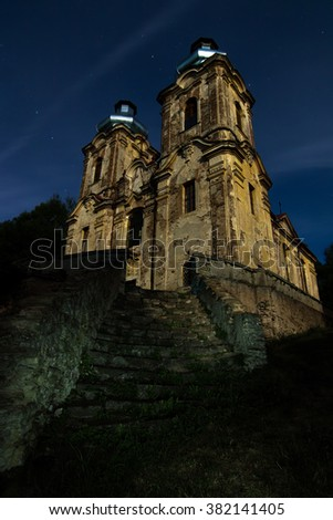 The Church of the Visitation - Skoky, Czech republic