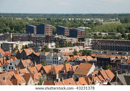 middelburg holland the city of in province zeeland netherlands nightlife