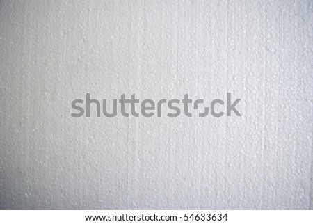 The close-up of a porous white surface - stock photo