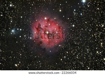 The Cocoon Nebula - stock photo