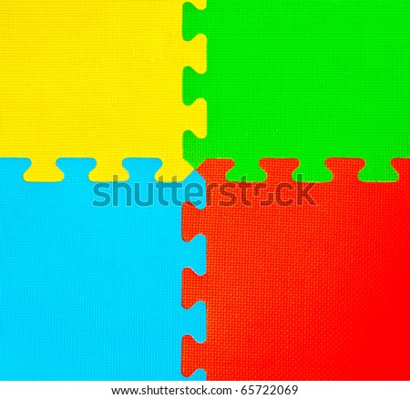 The Colorful of  rubber plate background with design detail - stock photo