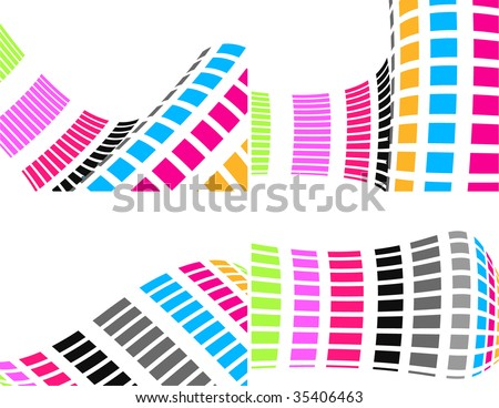 the colorful raster abstract background (vector version in portfolio)