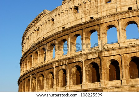 The Colosseum, Rome - stock photo