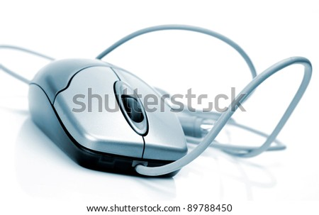 The computer mouse - stock photo