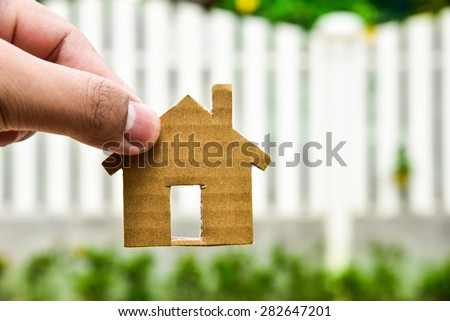 The concept of building houses on vacant land. For me and family