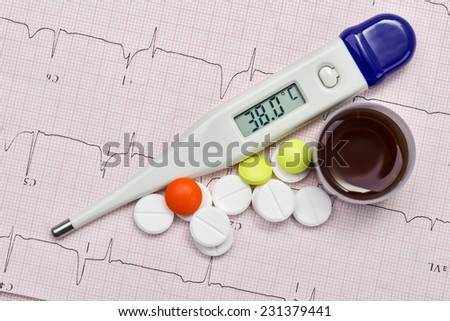 The concept of for medicine - stock photo