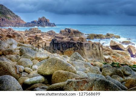 The Conrwall Coast - stock photo