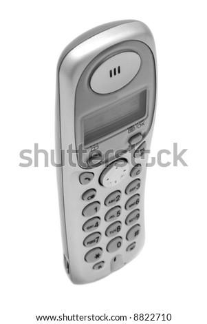 The cordless phone 2 - stock photo