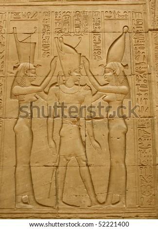 The Coronation of the Pharaoh - stock photo