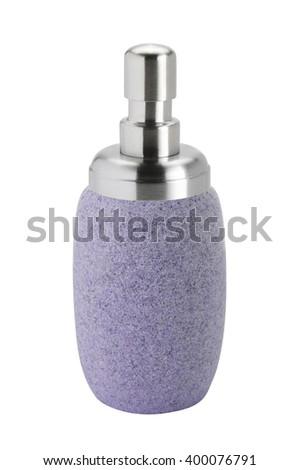 The cosmetic rock bottle