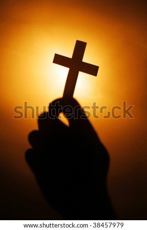 The cross of the lord jesus christ - stock photo