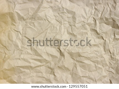 the crushed grunge paper background - stock photo