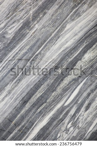 The cut marble rock. The texture of the stone - stock photo